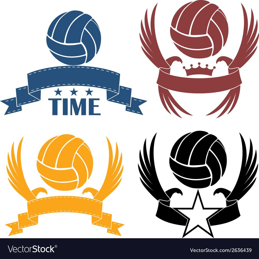 Volleyball Royalty Free Vector Image Vectorstock Affiliate Free Royalty Volleyball Vectorstock Ad Vector Free Free Graphics Baseball Vector