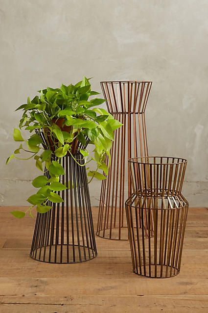 Linear Plant Stands Anthropologie 425 638 Plant Stand Indoor