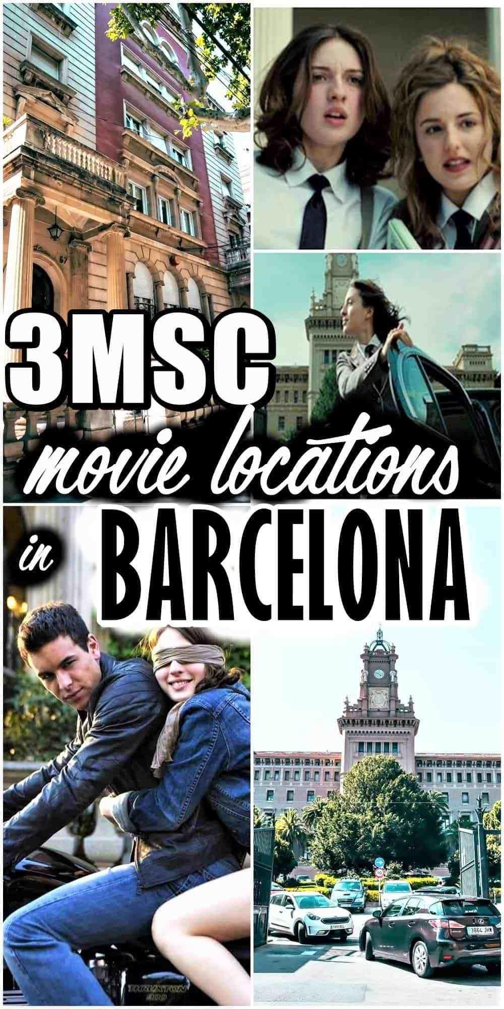 Tres Metros Sobre El Cielo Movie Locations In Barcelona Movie Locations Female Travel Bloggers Top Cities In Spain