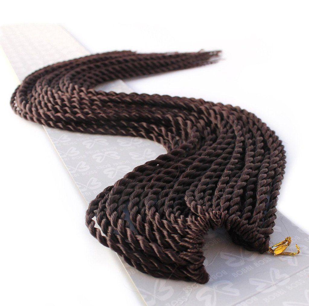 Bobbi Boss 100 Kanekalon Crochet Braids Senegal Twist Hair