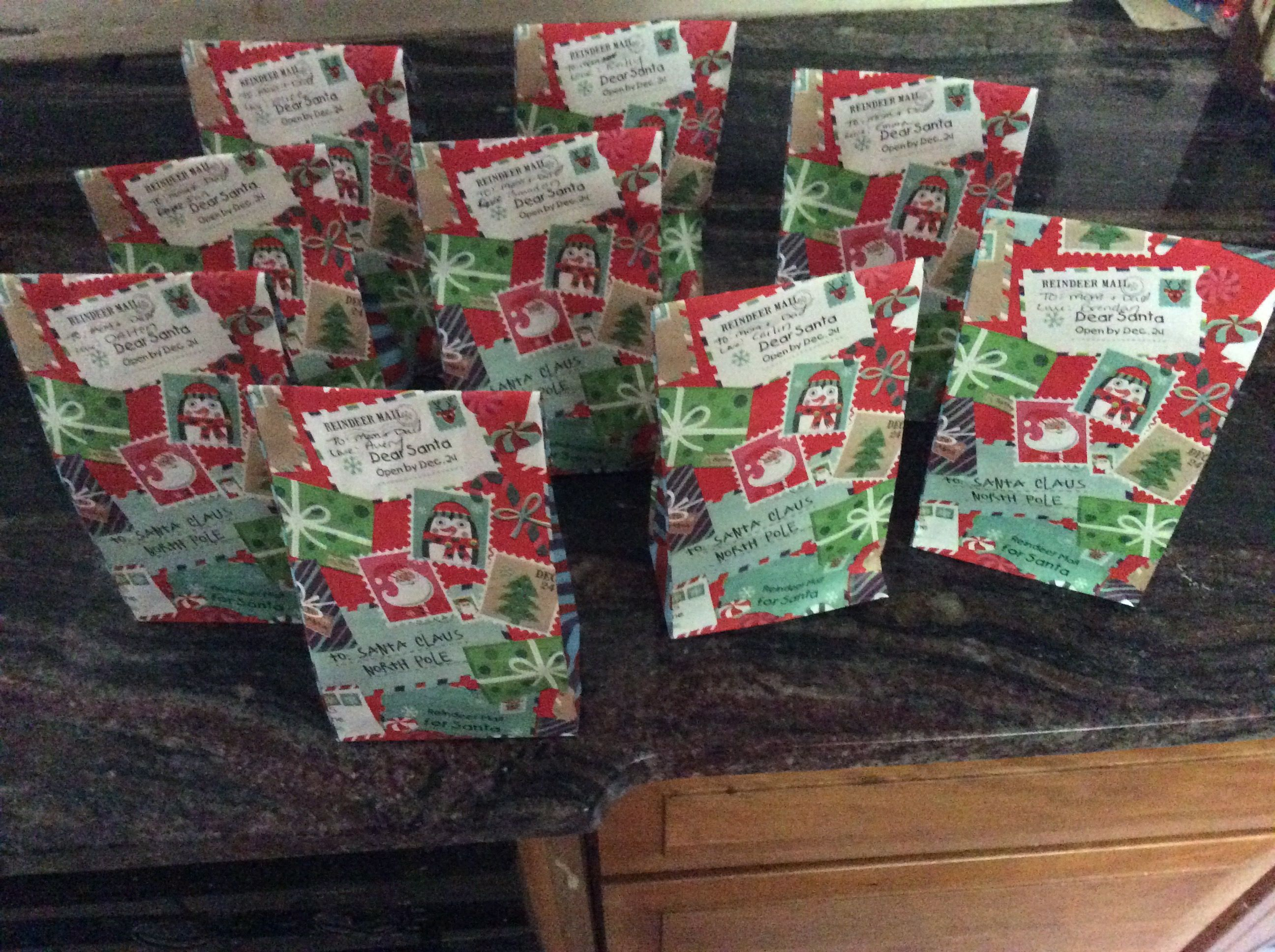 Today We Finished Up Our Parent Ts All Wrapped And