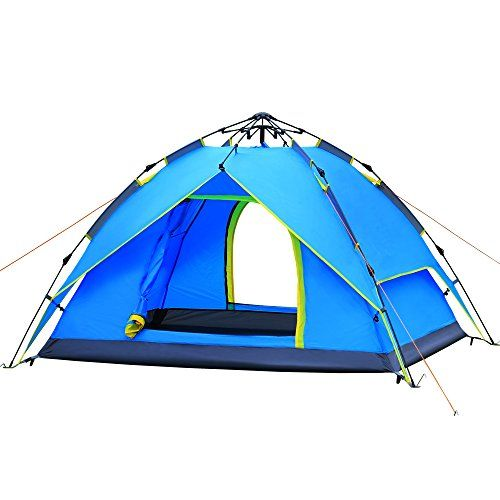 HUILINGYANG c&ing tents 23 people Waterproof Portable Pop Up C&ing Automatic Family TentBackpacking Sun Shelter Tents  sc 1 st  Pinterest & HUILINGYANG camping tents 23 people Waterproof Portable Pop Up ...