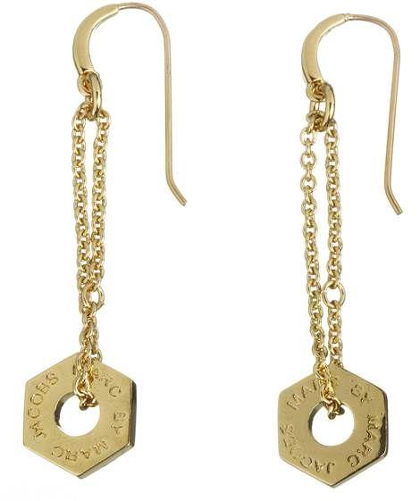 Marc by Marc Jacobs: Damen Ohrringe 'Loop', gold von Marc Jacobs