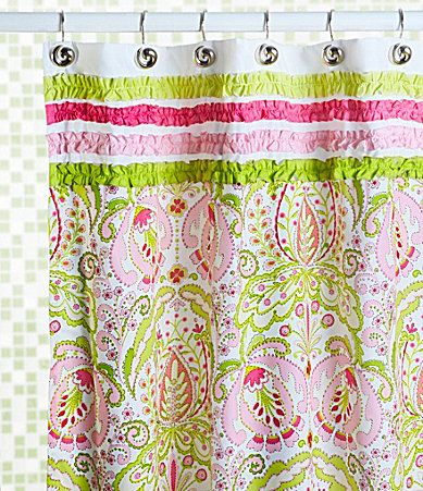 Dena Home Moroccan Garden Shower Curtain Available At Dillards Www