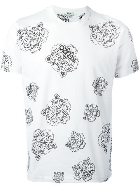 7aed84fa2 KENZO multi tiger T-shirt. #kenzo #cloth #t-shirt | Kenzo Men ...