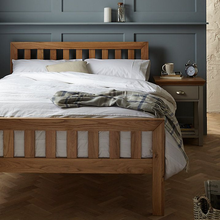 Contemporary Buy John Lewis Cooper Bed Frame Double Oak line at johnlewis - Beautiful bedstead In 2018