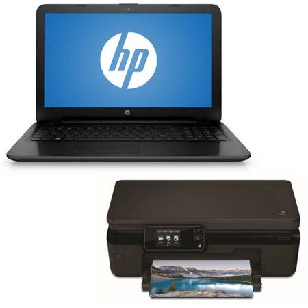 HP Computer with HP Photosmart 5520 e-All-In-One Printer