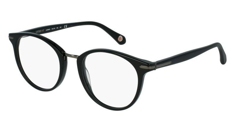 0354ca18c5ed3c Lunettes de vue LATITUDE 47 LA18M03 Noir Brillant   Les lunettes ...