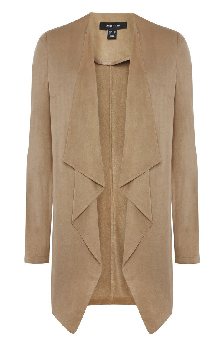 Primark green jacket with leather sleeves