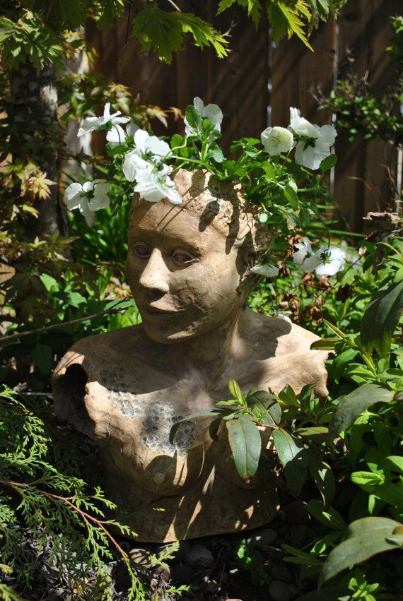images about faces in the garden on, Gardens/