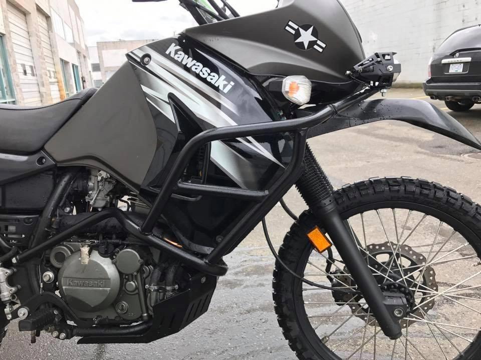 Good looking scrambler motorcycle yamaha