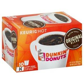 Dunkin Donuts Original Blend Medium Roast Single Serve Coffee K Cups Shop Coffee At H E B Dunkin Donuts Coffee K Cups Dunkin Donuts Coffee