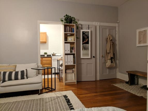 Tiny E Living In A New York Studio Apartment Therapy