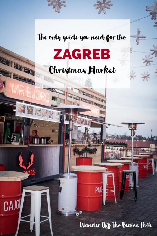 Zagreb Christmas Market Croatia Christmas Market Christmas In Europe Christmas Markets Europe