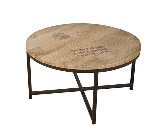 Patina + Soul Kamya Round Coffee Table - DEQOR.com | For the Home ...