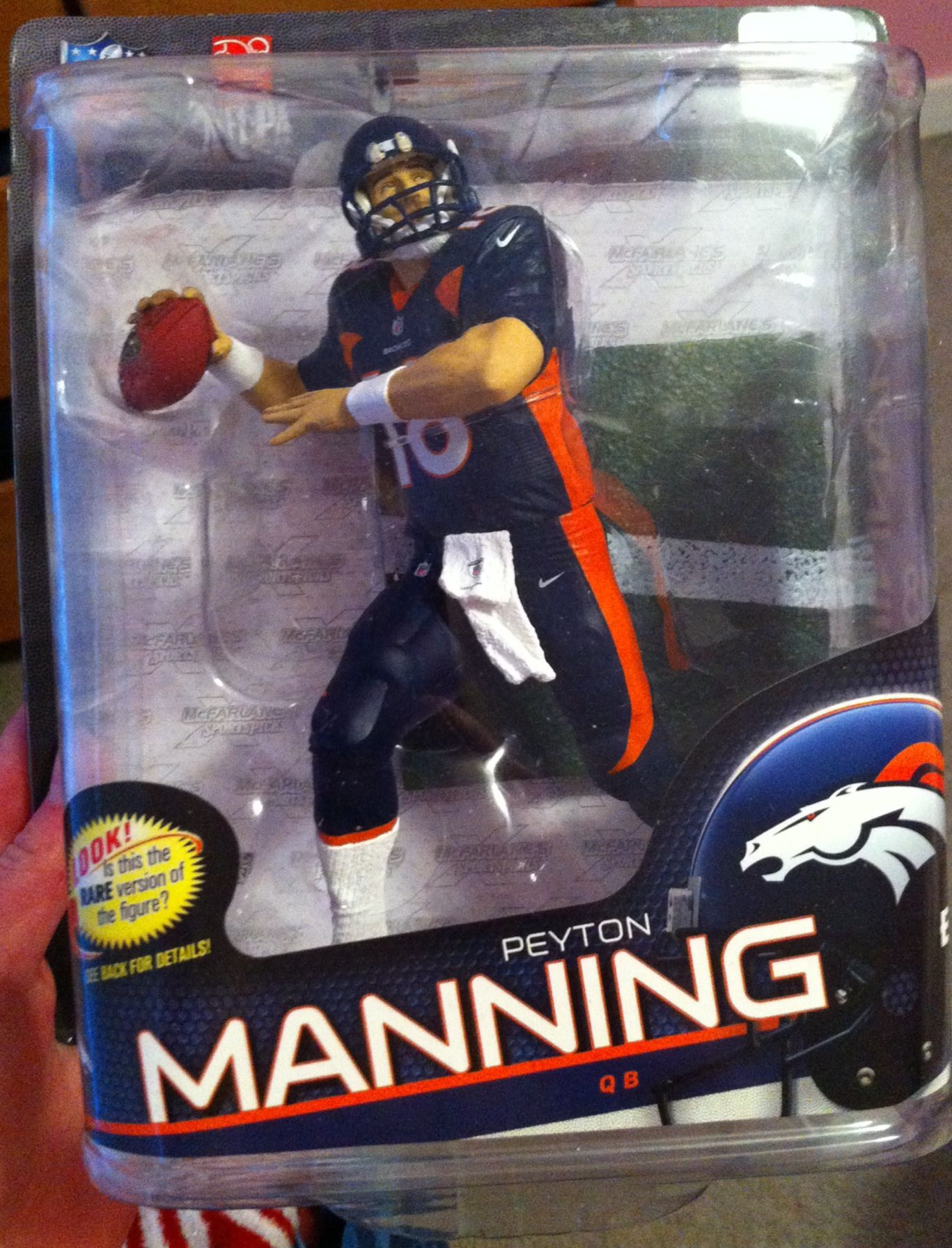 Peyton Manning action figure! I NEED this! | Peyton Williams