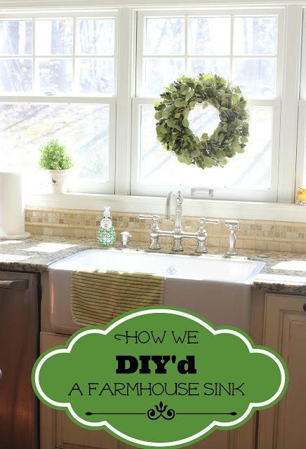 Diy Shaw S Farmhouse Sink Installation Farmhouse Style Kitchen