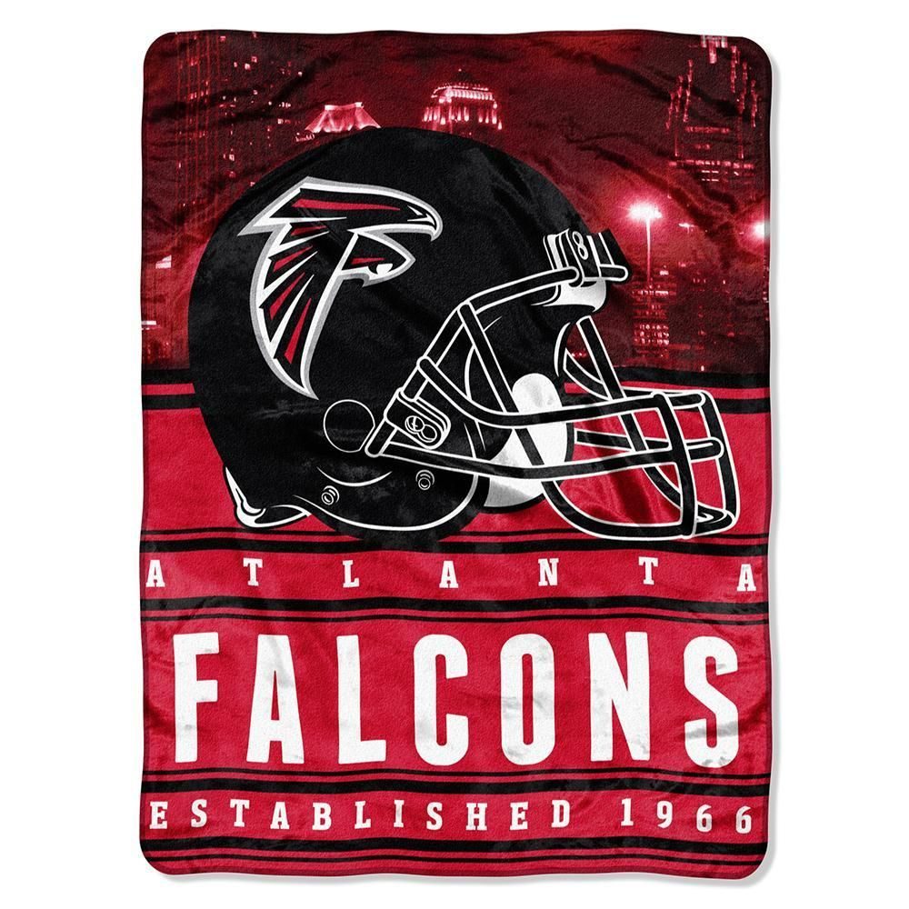 Atlanta Falcons Nfl Silk Touch Throw Stacked Series 60inx80in Atlanta Falcons Atlanta Falcons Gear Falcons