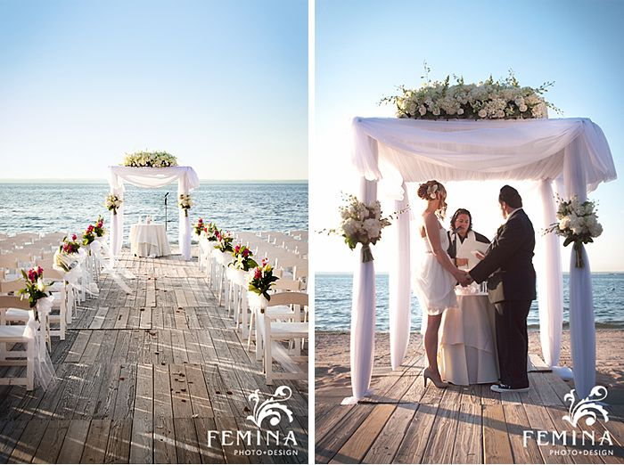 This Beachwedding At The Crescent Beach Club In Bayville Long