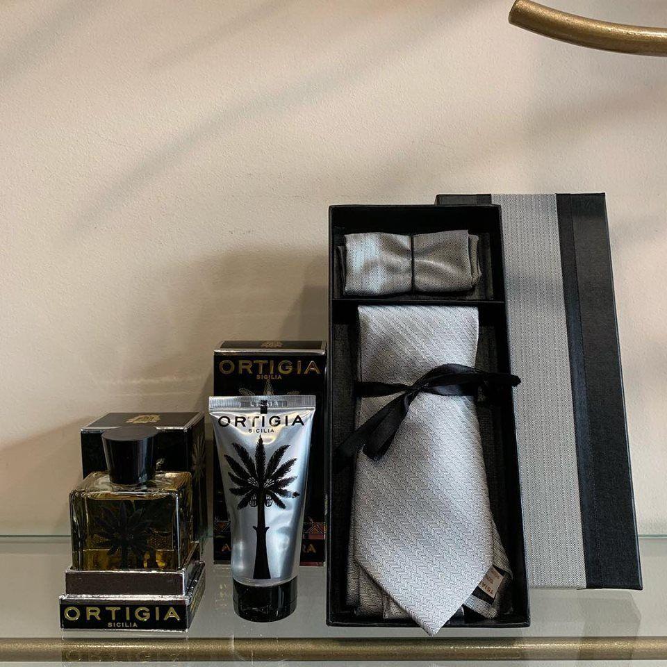 For #men #ortigia #amber #aftershave #shavinggel #silktie