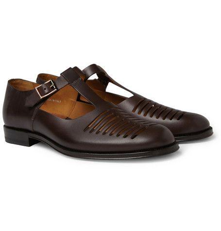 5eb2b3c2c23a Paul Smith Shoes & Accessories Oskar Cut-Out Leather Sandals ...