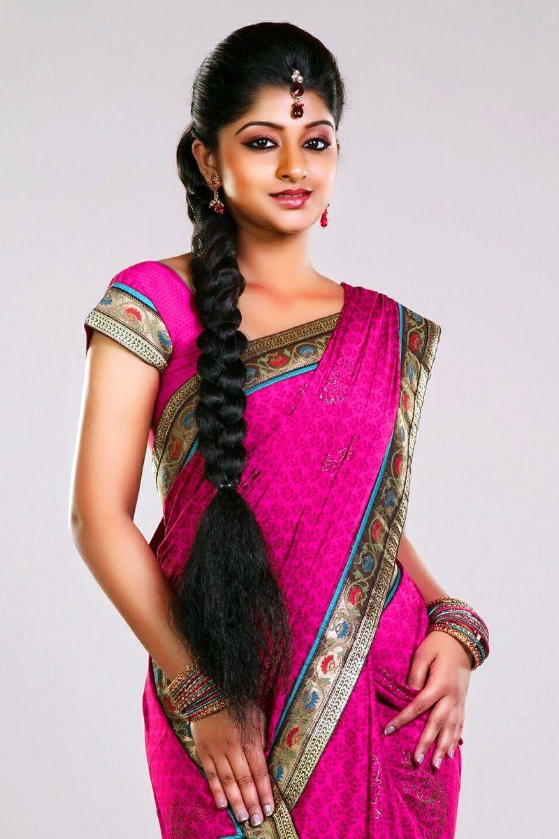 South Indian Heroine Aishani In Saree Hq Best Photo Shoot Stills