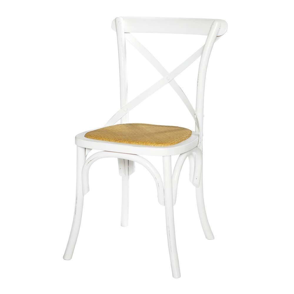 Chaise blanche Tradition Maisons du Monde   Tradition   Pinterest ...
