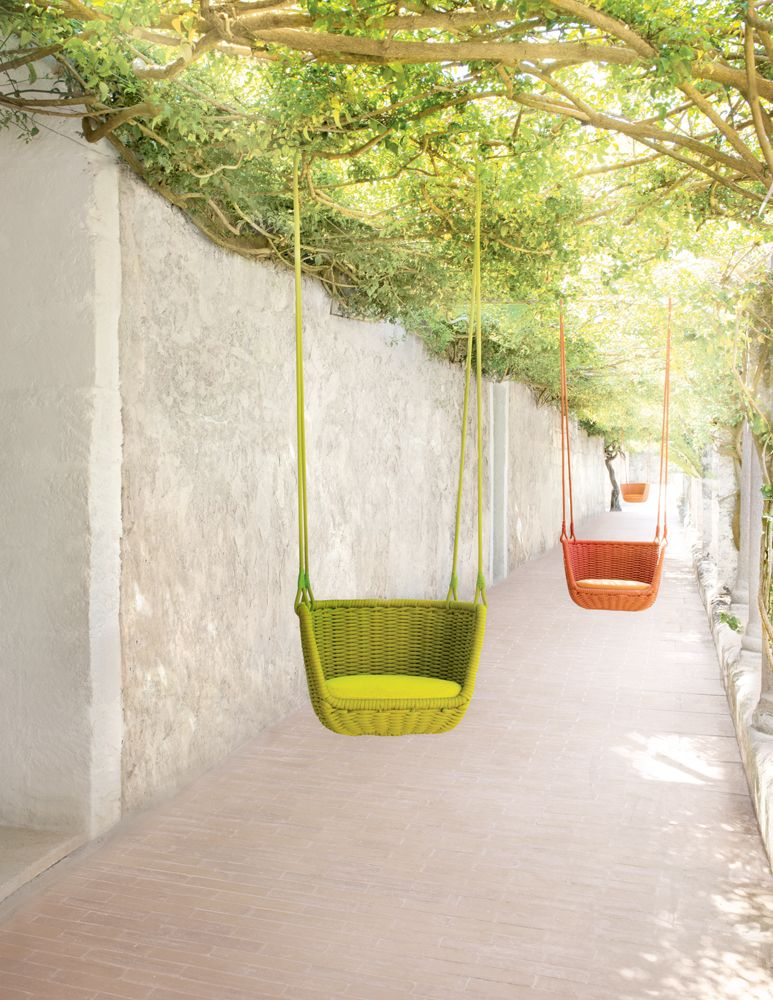 charming garden seating ideas native design | Article from Dwell on LongHouse Reserve. Looks so fun and ...
