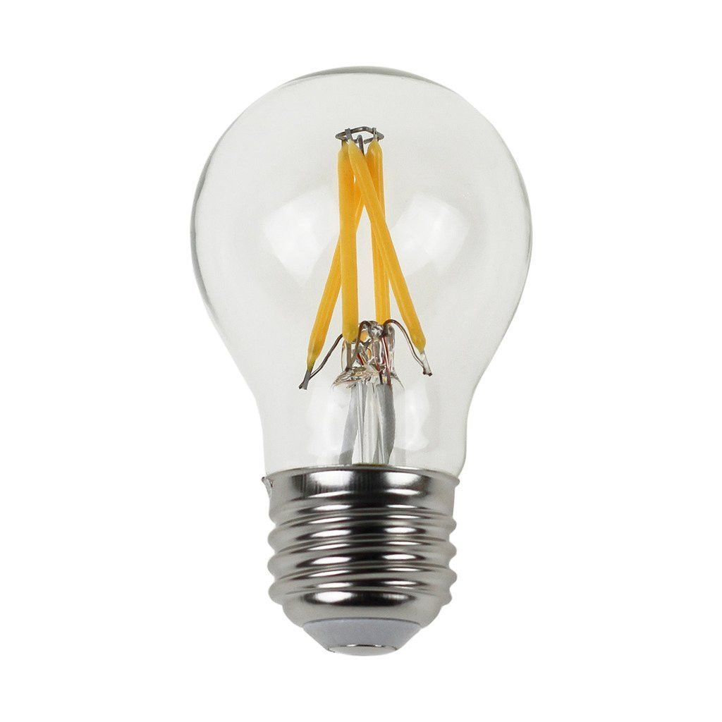New A15 3W LED Filament Bulb 40W Equivalent, E26 Base, 2700K, Non-dimmable