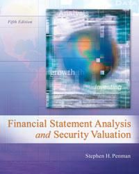 Solution manual for financial statement analysis and security solution manual for financial statement analysis and security valuation 5th edition by penman isbn 0078025311 instructor fandeluxe Choice Image
