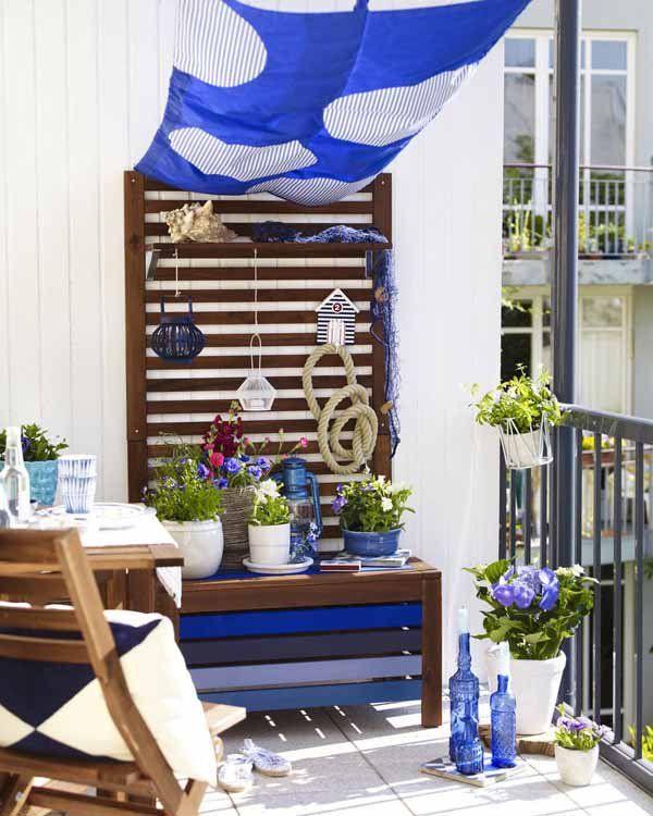 Luxury Cool Balcony Ideas