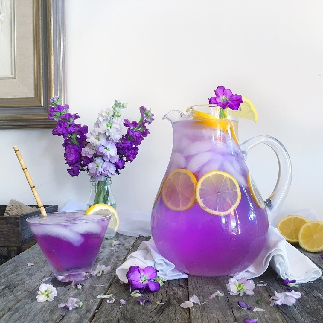 Butterfly 🦋 Blue Pea Flower powder as infused water with