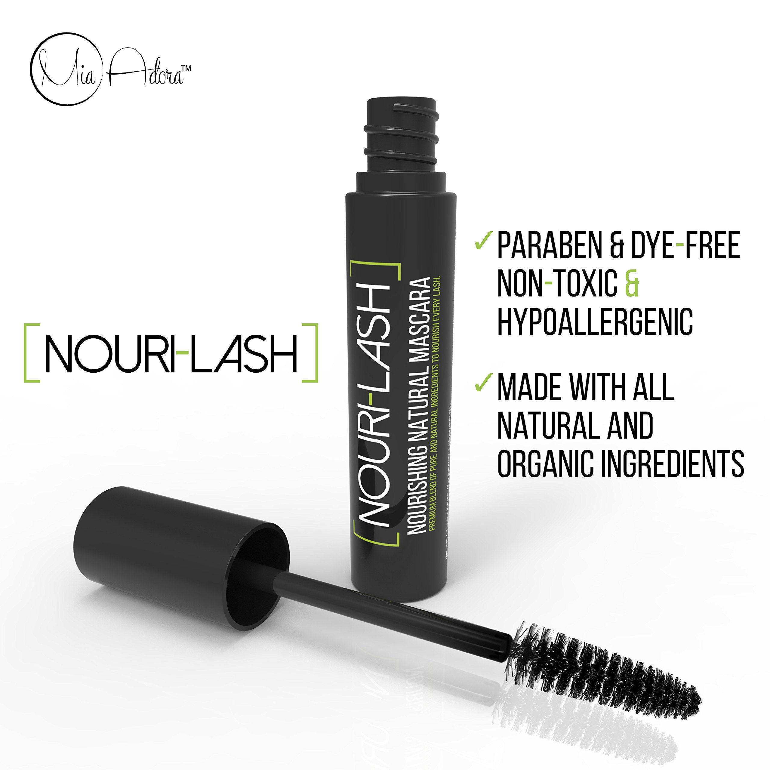 Best Organic Mascara Black Natural Mascara Ingredients for