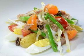 Italian Tuna Salad with Eggs and Potatoes