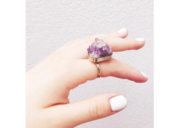 Purple Terracotta: Helena Ring - Kichink