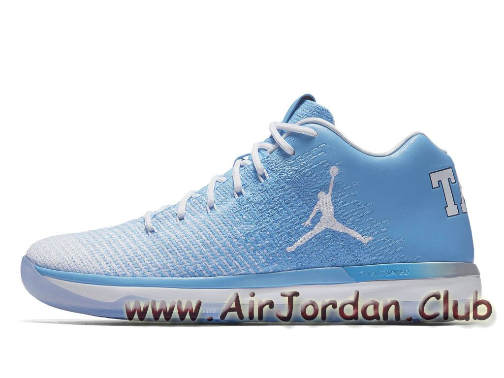 new product c2cfa b4082 Homme Air Jordan XXX1 31 Low UNC 897564 407 Chaussures Air jordan Prix Bleu