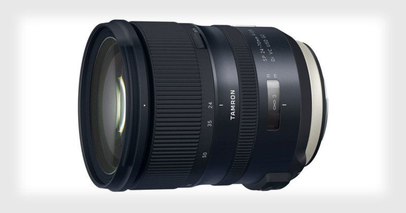 Tamron Unveils 24 70mm F 2 8 For Full Frame With 5 Stops Of Stabilization Tamron Camera Photo Blog Photography
