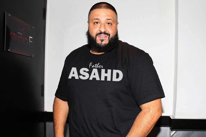 Dj Khaled Father Of Asahd Official T Shirt Mens Tops Dj Khaled Rastafarian