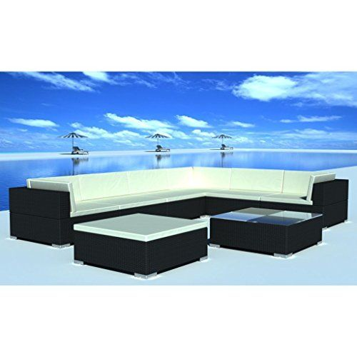 Patio 24 pcs Rattan Wicker Set Outdoor Sectional Sofa Lounge