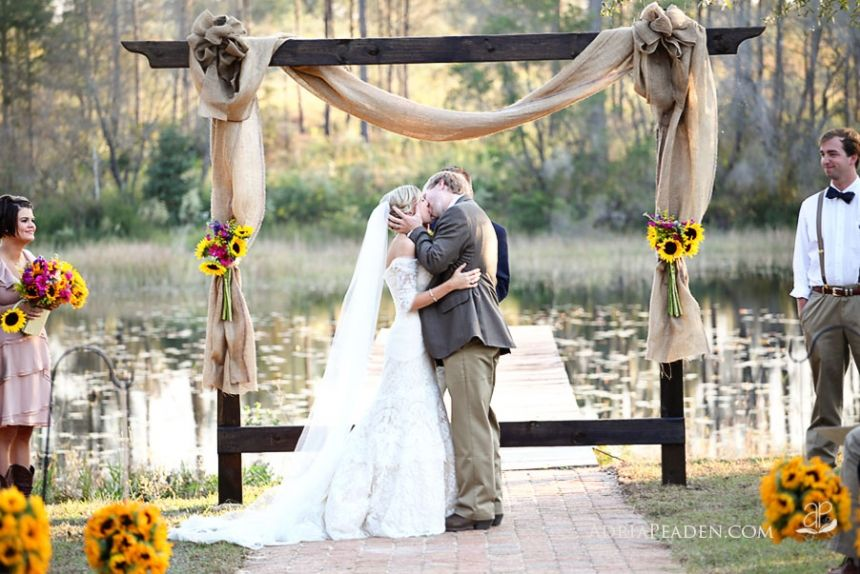 Wedding decoration ideas sunflowers adriapeaden wedding adria is a photographer starting out in panama city fl read about her adventure starting a new business sunflower wedding decorationsrustic junglespirit Images
