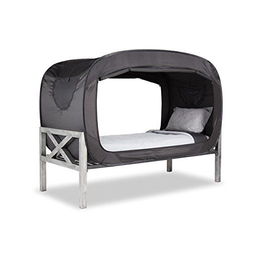 amazon: privacy pop bed tent: toys & games | home - cottage