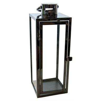 Lampion Ogrodowy 39 X 14 X 14 Cm Barcelona Metalowy Czarny Latarenki Pochodnie I Lampiony W Atrakcyjnej Cenie W Sklepach Leroy Side Table Decor Home Decor