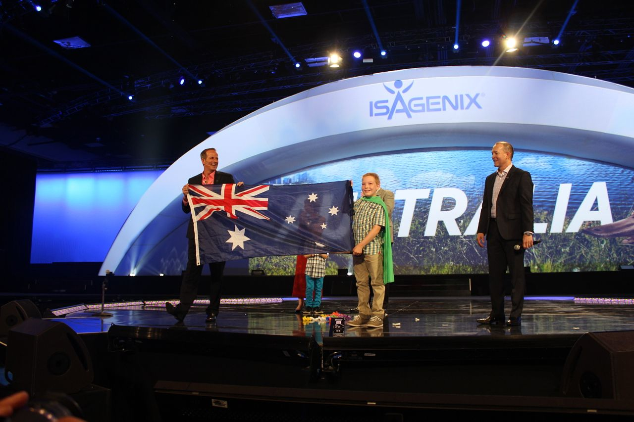 To acknowledge Ben for being such a courageous young man, his new Isagenix family wanted to do something special, something memorable. Something that required a little magic...