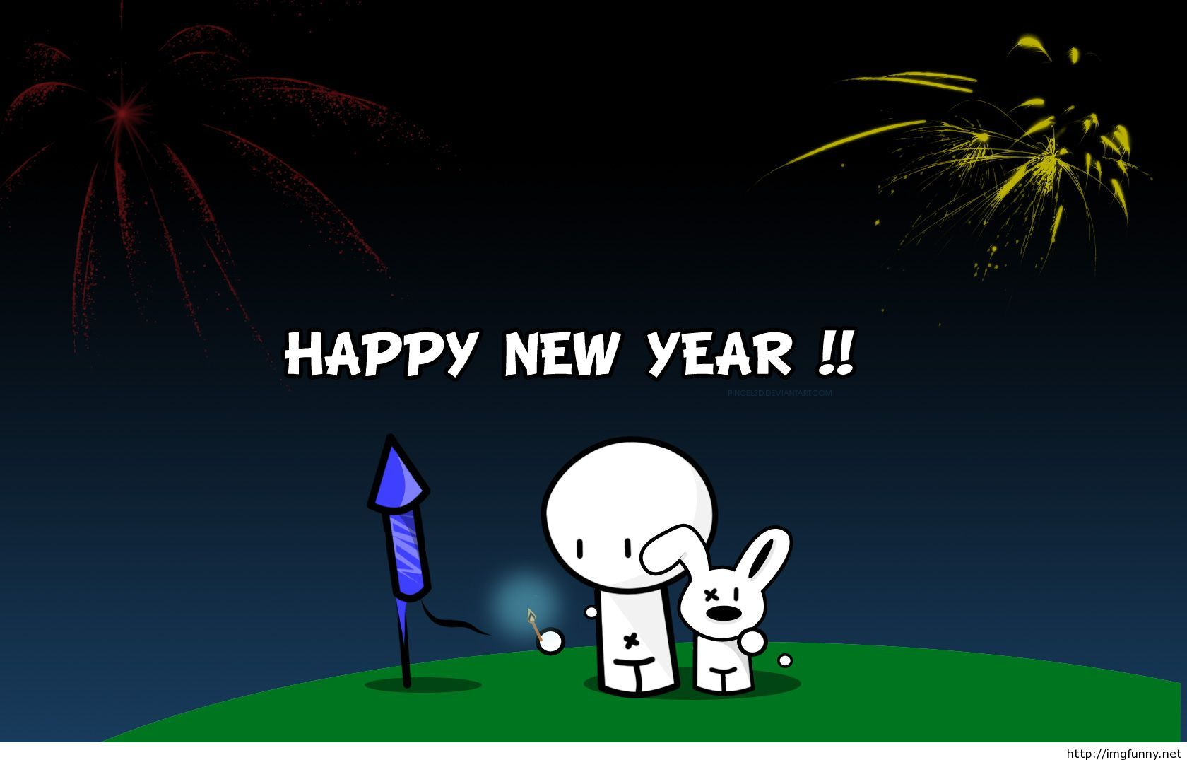 Funny Cartoons Happy New Year Photo 2015 Funny Pictures