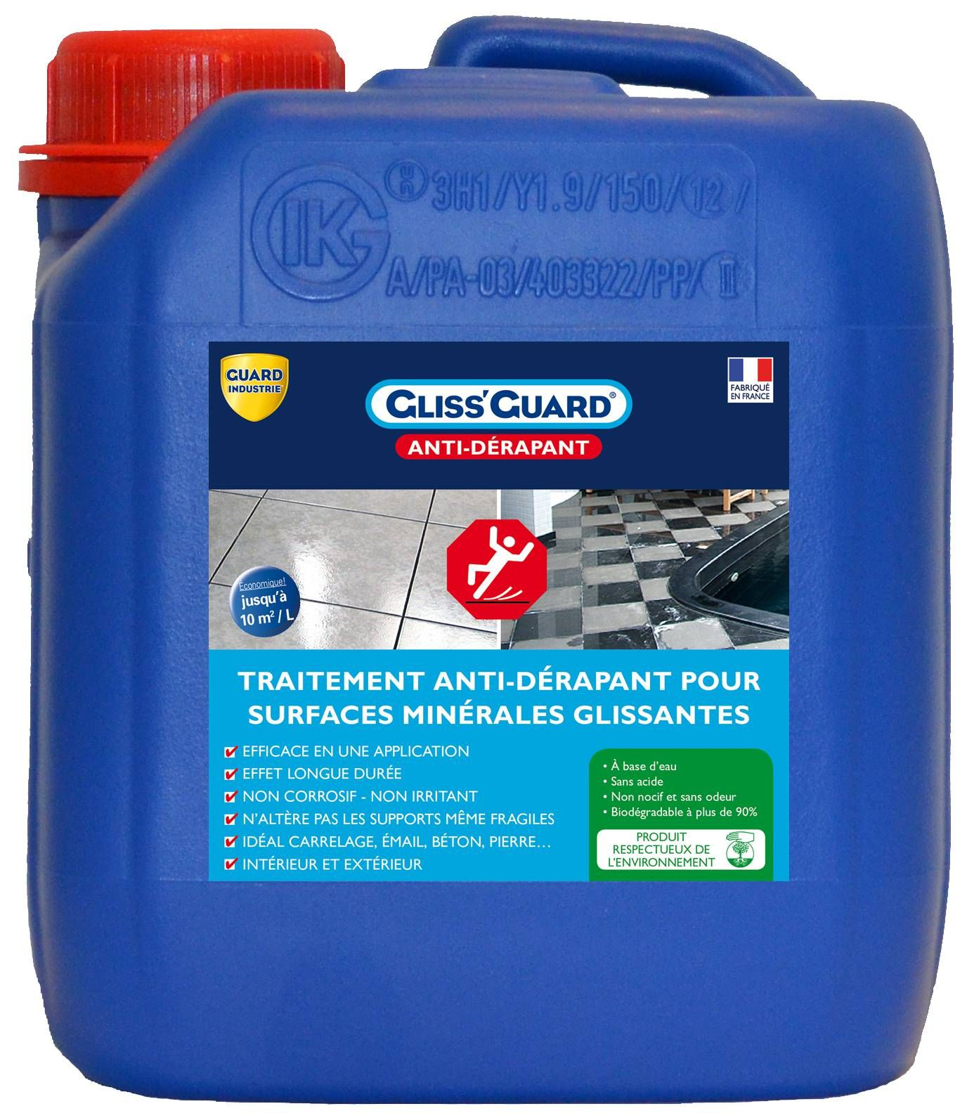 Gliss Guard Anti Derapant Guard Industrie Antiderapant Basse Pression Dalle Ceramique