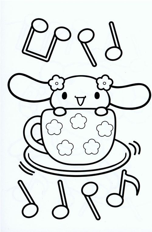Pin by marjolaine grange on coloriage cinnamoroll | Pinterest ...