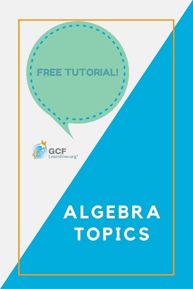 Need to brush up on your algebra? We\'ve prepared a refresher on some ...
