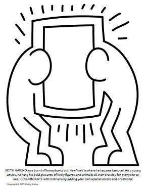20 Unique Educational Activities Keith Haring Art History For Kids Picture Prompts For Kids Keith Haring Art Arts Enrichment Haring Art