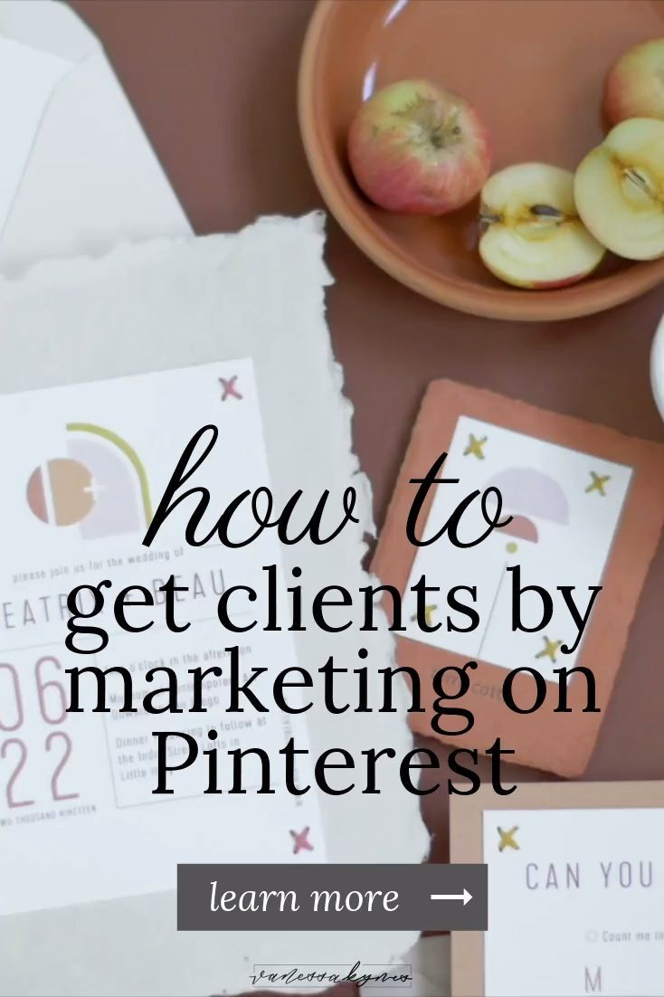 How to get clients as a web designer using Pinterest   Is Pinterest the right place to find new clients for your creative business as a brand designer? As a creative entrepreneur, I have successfully used Pinterest to find clients and get booked! In this blog post, I'm sharing how to use Pinterest to find clients and where to direct them when they land on your website for a solid client experience! #clientexperience #creativeentrepreneur #branding