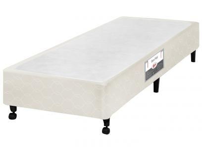 Box para Colchão Solteiro Castor 78x188cm - Poli com as melhores condições você encontra no Magazine 233435antonio. Confira!